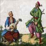 Богатырь Дымко и богатырь Андрушко