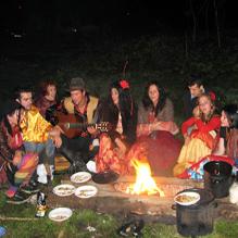 Вечер в цыганском таборе