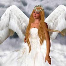Жена с крыльями