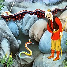 Охотник и змеиный царь