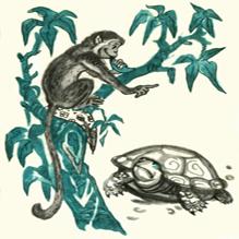 Про черепаху и обезьяну