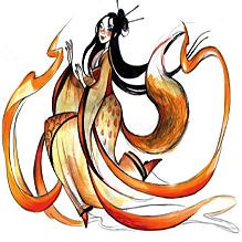 Женщина-лисица