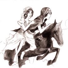Конь из чёрного дерева