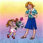 Детские песни к 8 Марта