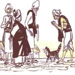 Купцы и кот
