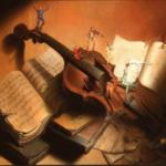 Три скрипача в раю