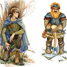 Эльфы и гномы