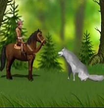 Жигит и волчица