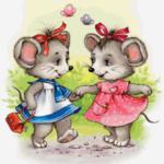 Мышки-подружки