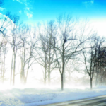 Солнце, мороз и ветер
