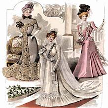 История атласного платья