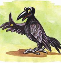Сказка про новую ворону