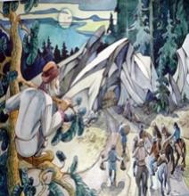 Мудрая девица и семь разбойников