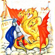 Три царства - медное, серебряное и золотое