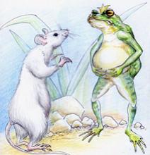 Война мышей и лягушек