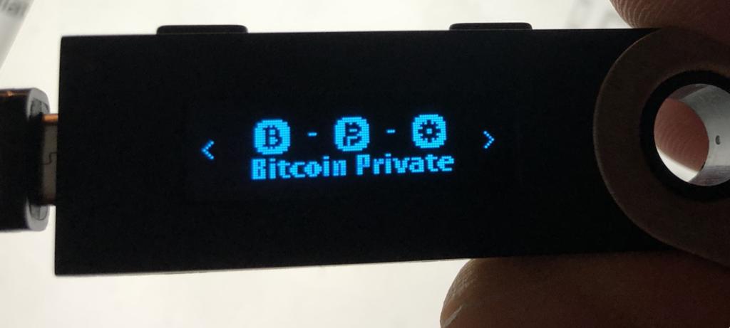 BTCP for Ledger Nano S