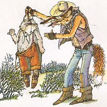 Как Братец Кролик перехитрил Братца Лиса