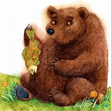 Медведь и карась