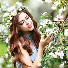 Как девушка красоту свою искала