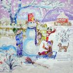 О снежной бабе
