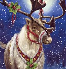 Олень Рождества
