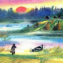 Бедняк и водяная женщина