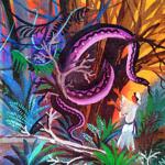Бедняк и фиолетовый змей