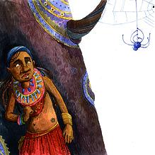 Кват и паучок Марава