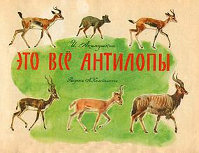 Это всё антилопы