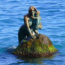 Легенда о русалке и фонтане