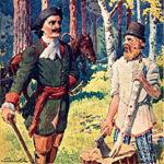 Пётр I и мужик