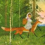Снегурушка и лиса