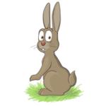 Трусливый заяц